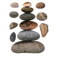 Стикери A&G 65x85 см, 1ч., камъни