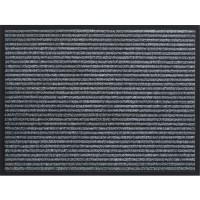 Изтривалка текстилен филц с гума Евертън 40х60 сиво