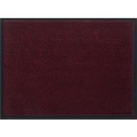 Изтривалка текстилен филц с гума Марс 40x60 червено