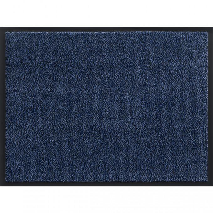 Изтривалка текстилен филц с гума Марс синьо