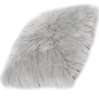 Възглавница Ovium дълъг косъм сиво 40х40