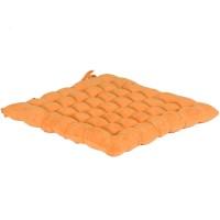 Възглавница за сядане Alcantara цвят 3 40х40 оранж