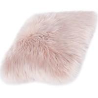 Възглавница Ovium дълъг косъм розово 40х40