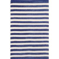 Килим MARIN цвят 6 60х90 синьо/бяло райе