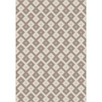 Килим Cottage плетеница вълна-норка