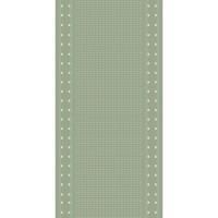 Пътека Cottage ромб маслинено-вълна