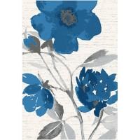Килим Casino синьо цвете