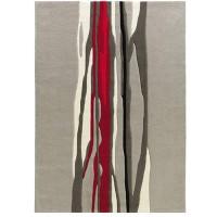 Килим Spirit - Red Trace червено сиво черти