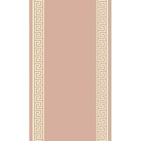 Пътека Lanu крем рамка лабиринт розово