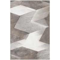 килим Вегас Хоум беж геометрични фигури 80х150