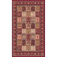 Промо килим Oriental квадрати червено