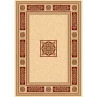 Килим Da Vinci класика червено рамка 160х230