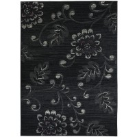 Килим Lanu орнаменти тъмно сиво лила