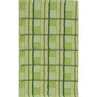 Килим TATRA памук цвят 709 50х80 зелено каре