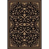 Килим Da Vinci класика, орнаменти черно