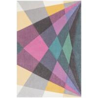 килим Пастел шарени геометрични фигури 160х230