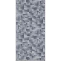 Пътека силиконов гръб 80см/лм сиво мозайка