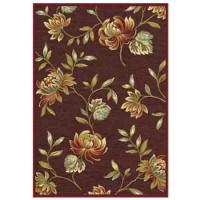 Килим Genova 160х230 цветя бордо