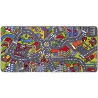 Килим Big City многоцветен 95х200