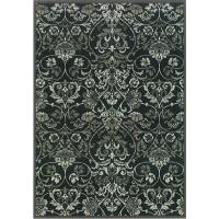 Килим Genova 160х230 орнаменти черно