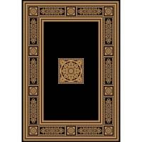 Килим Da Vinci класика черно рамка