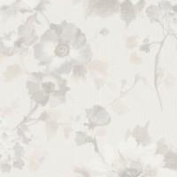 Тапет Фешън 4Уолс текстилни цветя лилаво-беж
