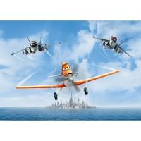 Фототапет Disney стандарт 255х180/2ч Самолети