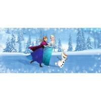 Фототапет Disney Флис 202x90/1ч Хориз. Елза, Ана и Олаф