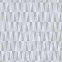 Тапет Карат сребърни триъгълници бяло