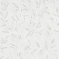Тапет Ърбан Спейсис беж цветя бял