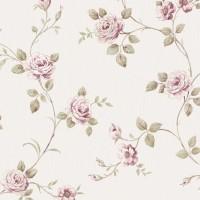 Тапет Ню Елегaнца розови рози крем