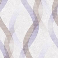 Тапет Livio блестящи вълни лилаво-крем