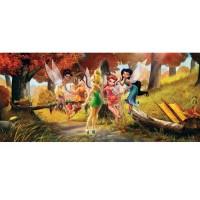 фототапет Disney Креатив Хор. 202x90 см, 1ч., феи в гората