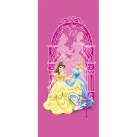 фототапет Disney Креатив Вер. 90x202 см, 1 ч., Принцеси в розово