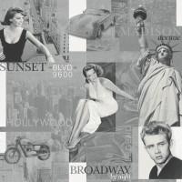 Тапет The Best 3 Broadway ч/б (Kids&Teens)
