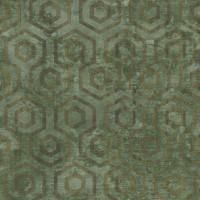 Тапет Ню Елегaнца металик фигури зелено