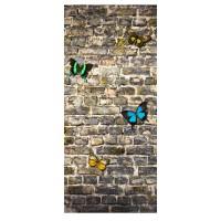 Фототапет Флис 90x202/1ч Верт. Пеперуди
