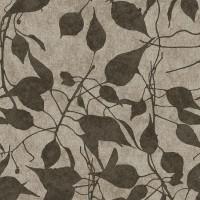 Тапет Ню Елегaнца стъмно злато листа сиво