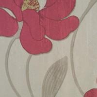 Flow разм. 53см червено цветя бетон