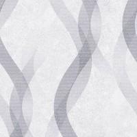 Тапет Livio блестящи вълни сиво