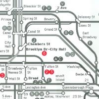 Hip&Fun New York метро червено