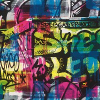 Тапет Кидс&Тийнс 2 urban art графити цветно