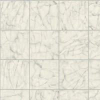 Тапет Криспи мраморни плочки бяло-сиво