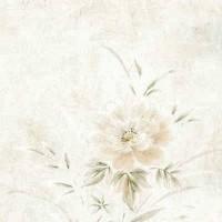 Тапет Бестселър бяло цветя копринен ефект (Бестселър 2)