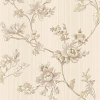 Тапет Ню Елегaнца розови големи цветя крем