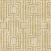 Тапет Ню Елегaнца златни квадрати лабиринт беж