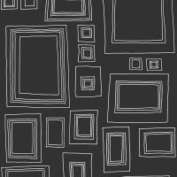 Kids@Home Frames black on white