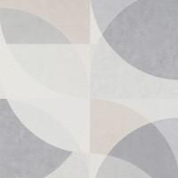 Тапет ELLE кръгове крем сив