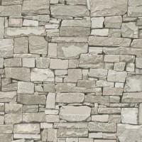 Тапет Тухли & Дърво зид бетон