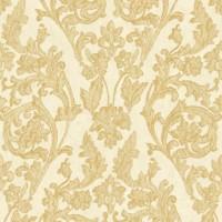 Тапет Ню Елегaнца златни орнаменти крем